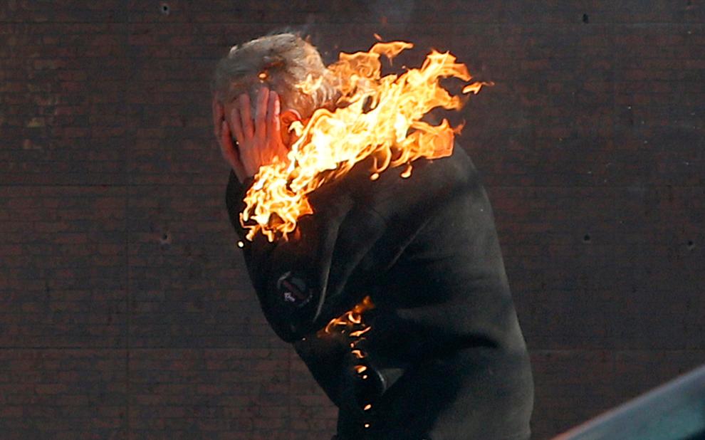 Ukraine Revolution Fire