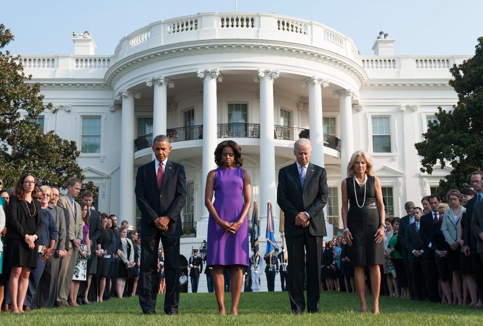 9 11 united states marks 12th anniversary of attacks - Fotos de la casa blanca por fuera ...