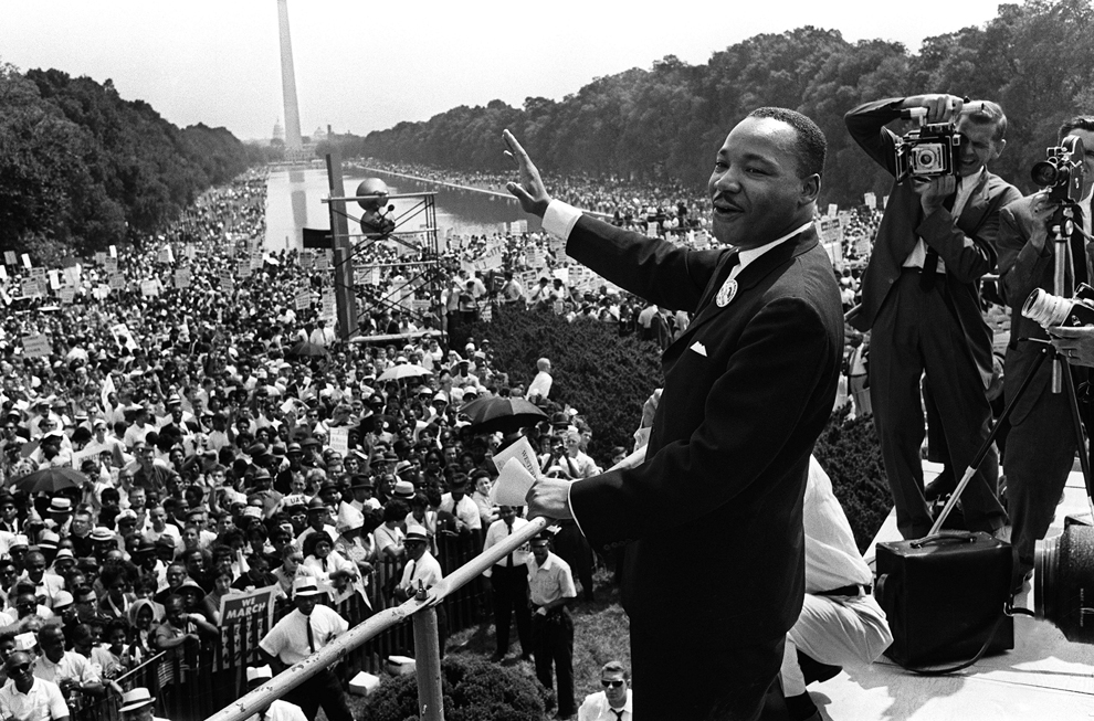 Revisiting Martin Luther King's 1963 Dream speech