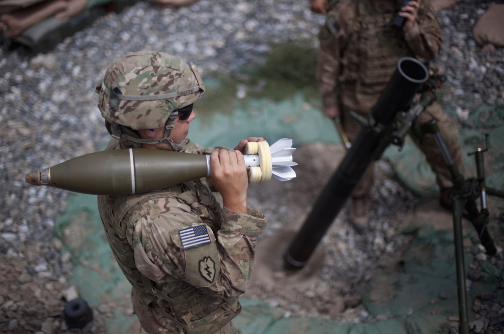Mortar High Explosive Round : Afghanistan september here is available world for us