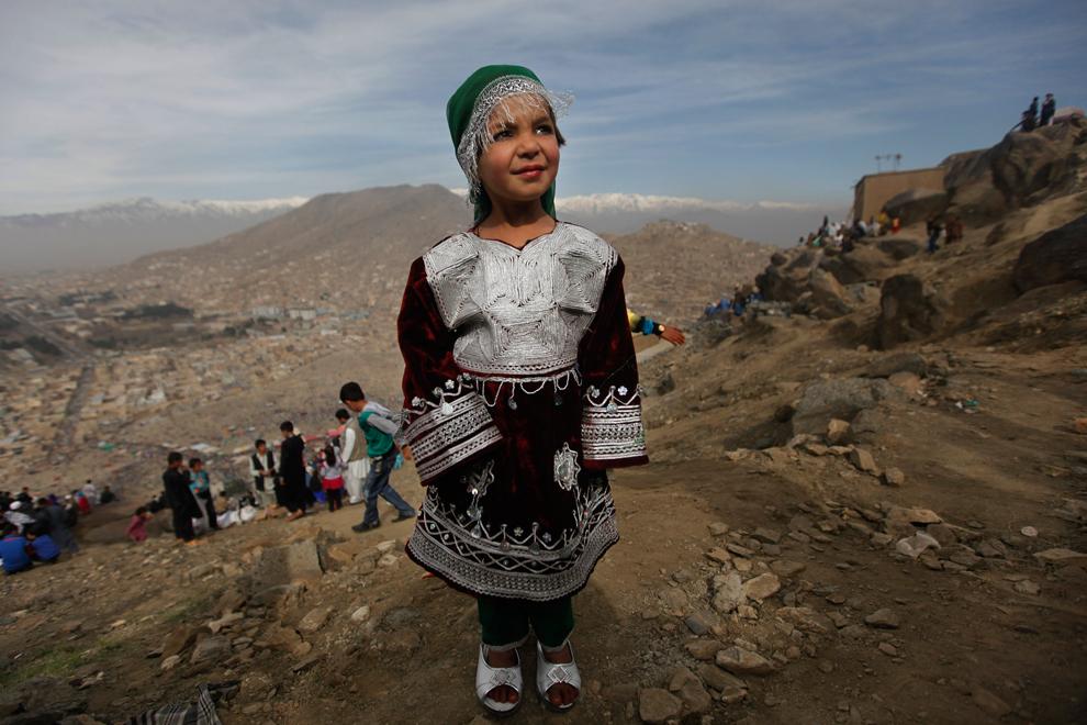 Afghan cute baby