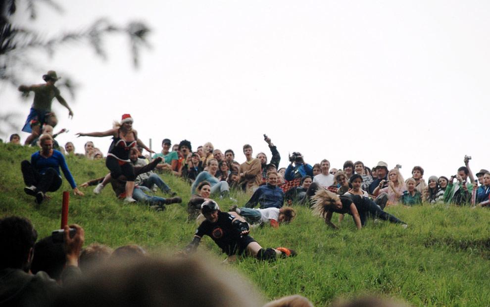 carreras queso Inglaterra foto