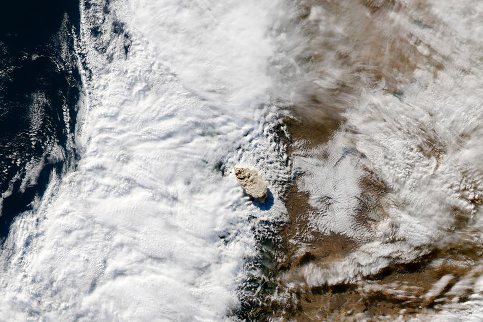 espectaculares fotos de erupción del volcan puyehue