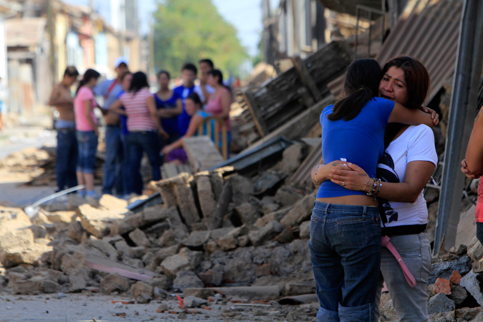 victims of the earthquake