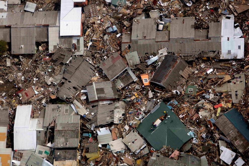 Dichato después del terremoto y el tsunami, Comuna de Tomé
