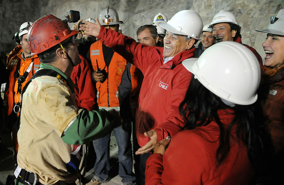 Rescate de los Mineros(50 fotos HD)+ yapa