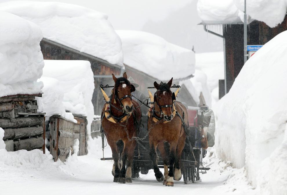 frio en europa