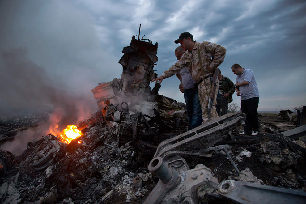 Malaysian Jet crashed in Ukraine