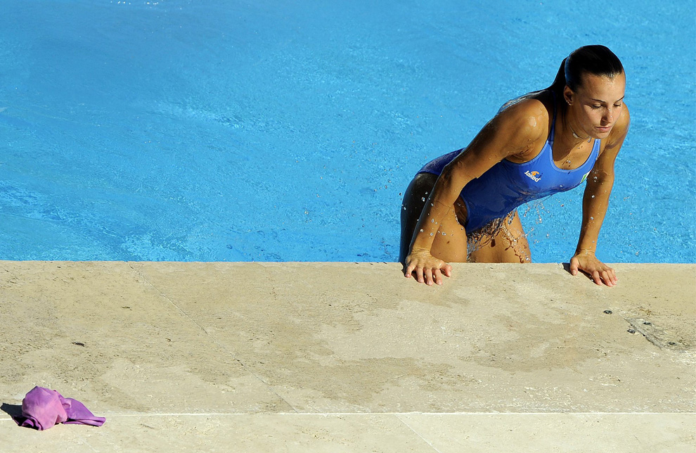 Women's Platform Diving Hot