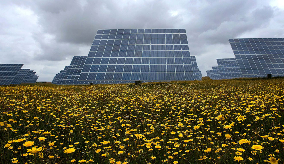 Amareleja Solar station [featured in Boston Globe Earth Day edition]