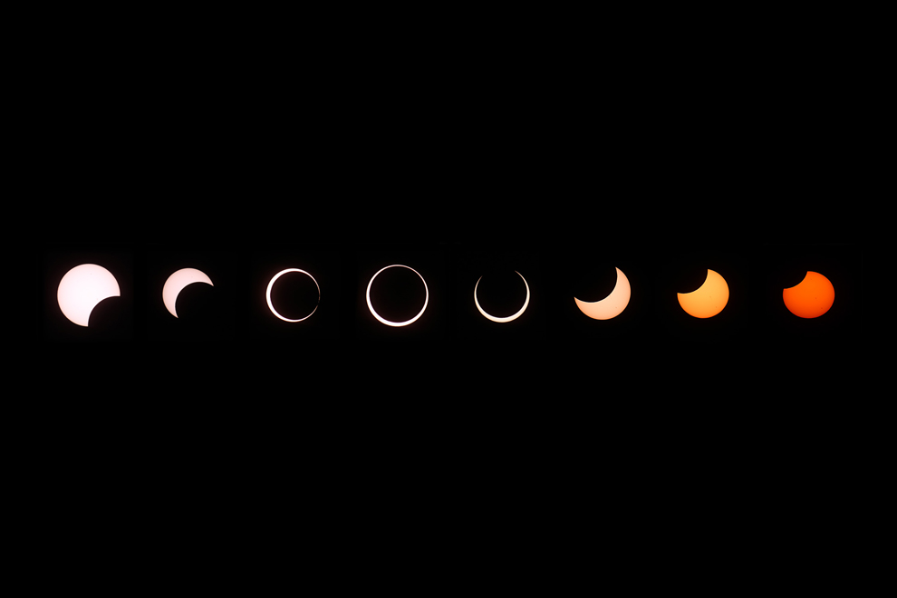 Ring Of Fire Eclipse  Path
