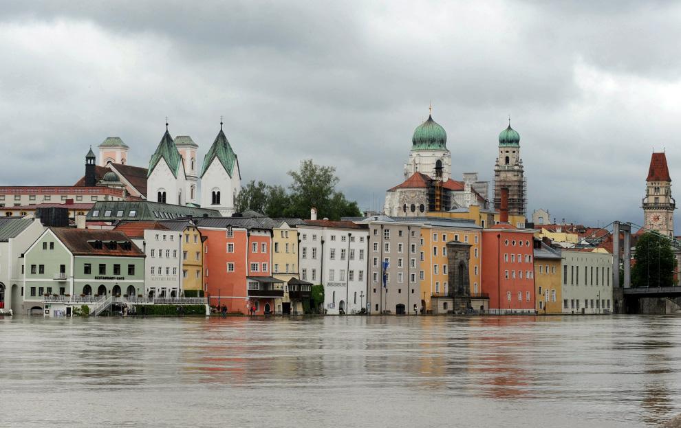 Fotoperiodismo: inundaciones en Europa (2010)