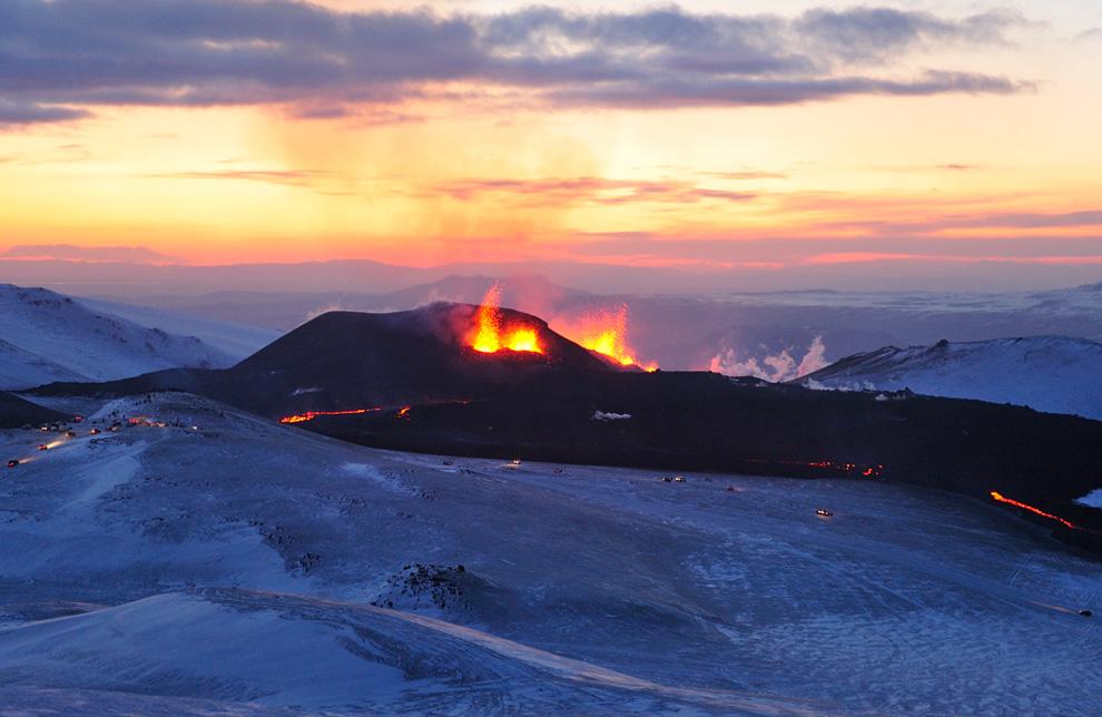 İzlanda / yanardag İnfilaki!.. SON GORUNTULER...