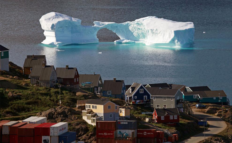 Iceberg near Kulusuk