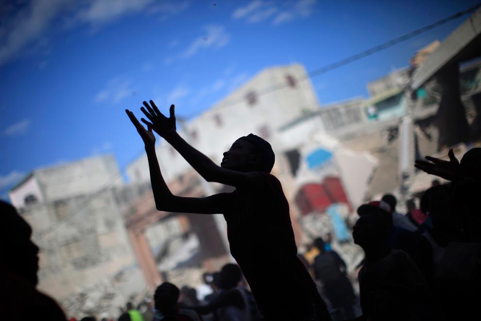 Haití Terremoto mujer
