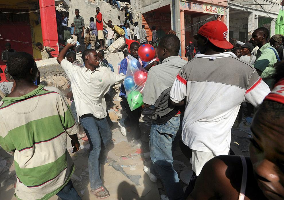 Haití Terremoto ladrones