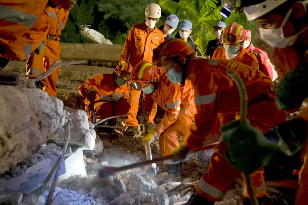 Haití Terremoto Brasil y China