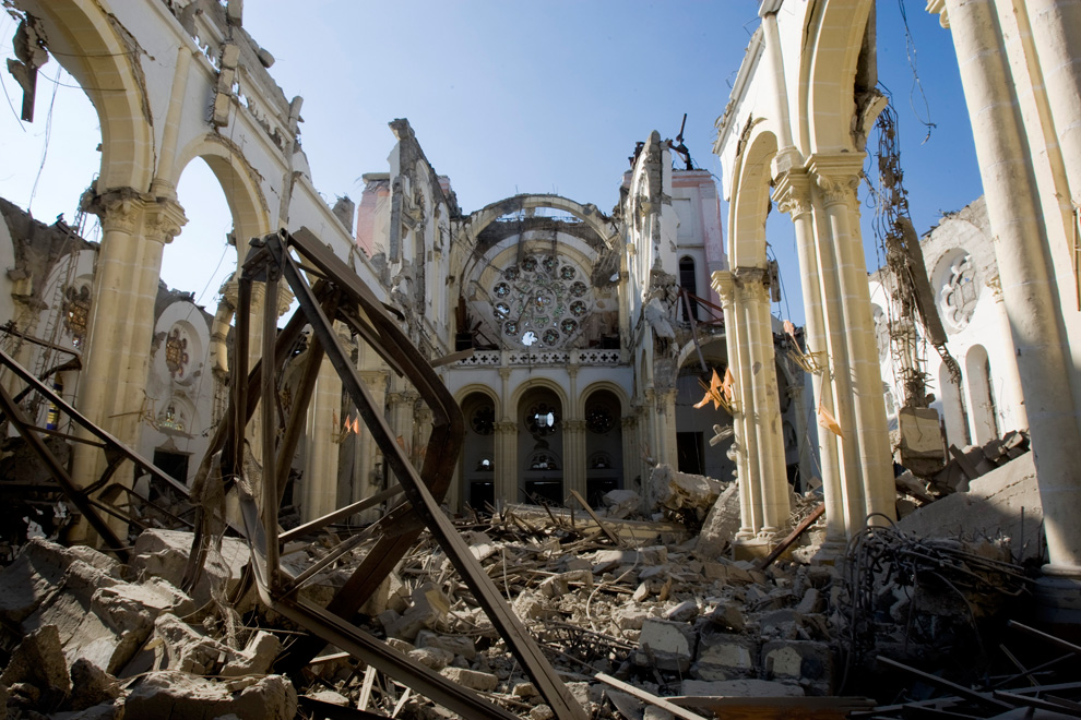 Haiti Earthquake cathedral