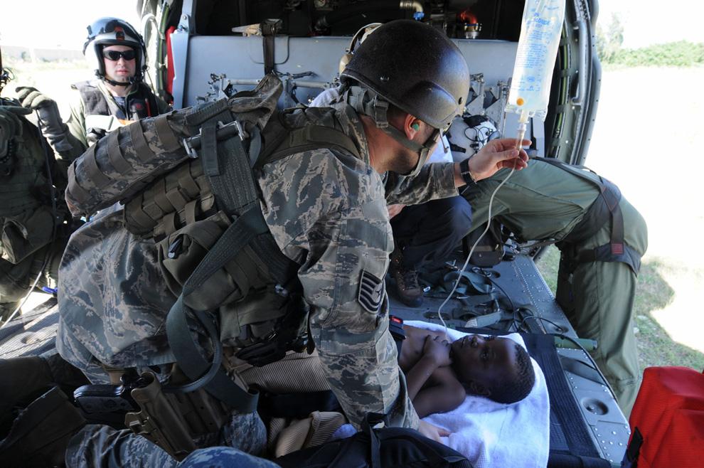 Haití Terremoto U.S. Navy Fuerza Aérea