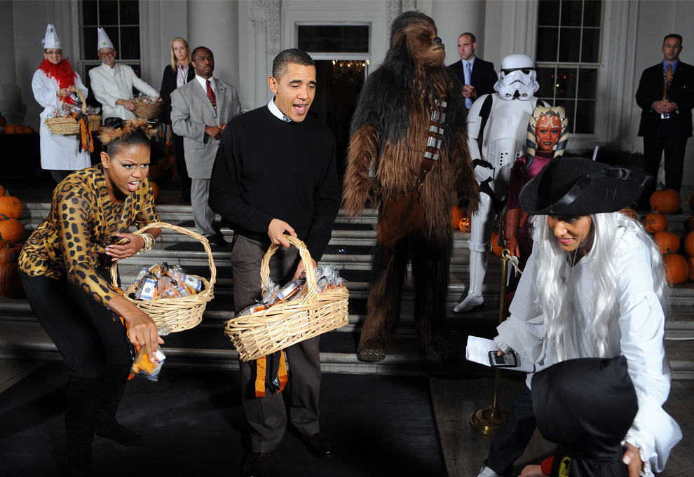 Halloween de los Obama