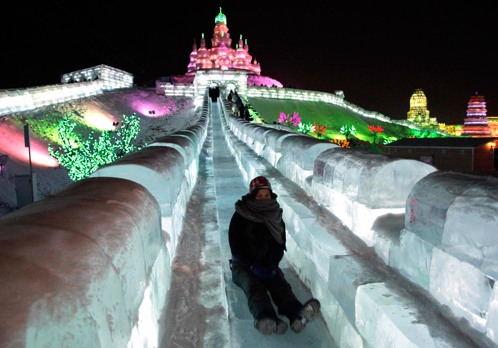 Harbin ice and snow sculpture festival photos the big
