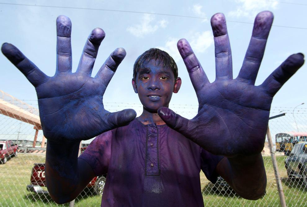 festival del color en India (Un Carnaval Zarpado)