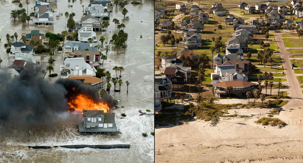 Incredible Photos: One Year After Ike