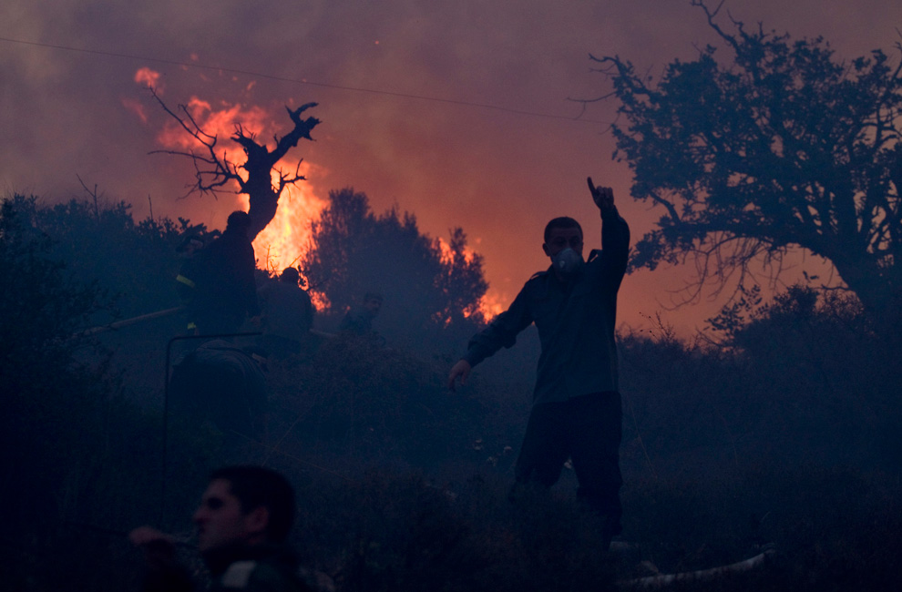 Wildfire in Israel - Photos - The Big Picture - Boston.com