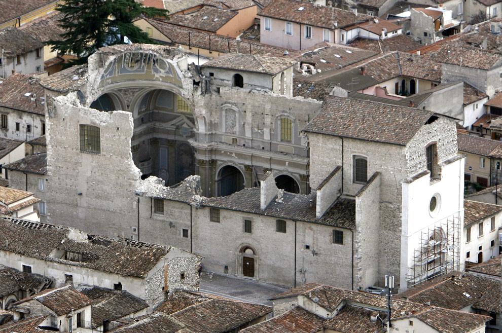 terremoto Italia fotos