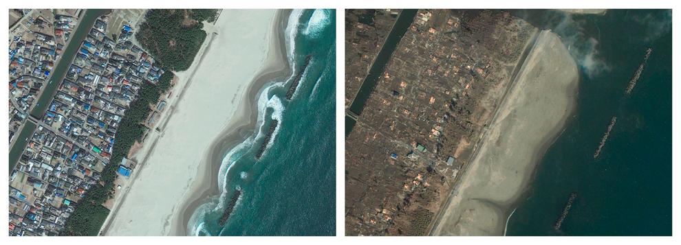 Imagenes de la devastacion en Japon