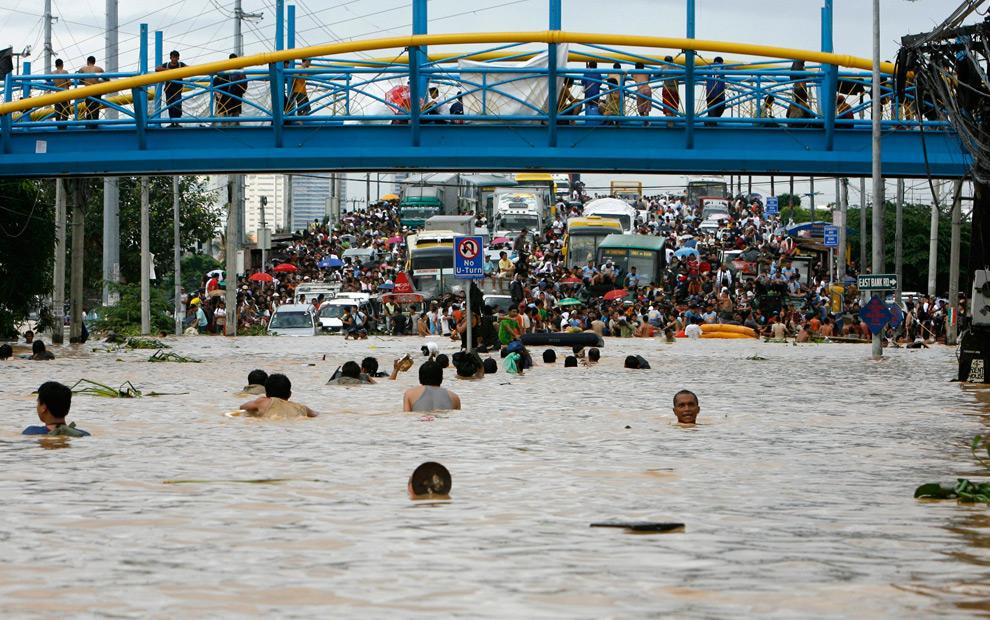 Imagenes delas filipinas despues de tifon Ketsana