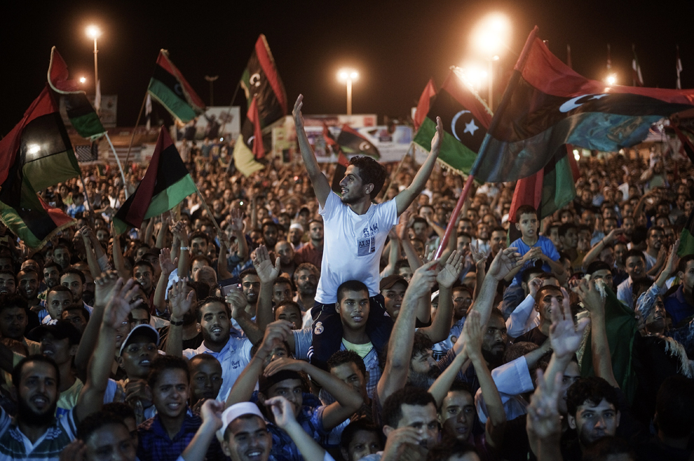 أكثر من 30 صورة لدخول أبطال ليبيا الى طرابلس