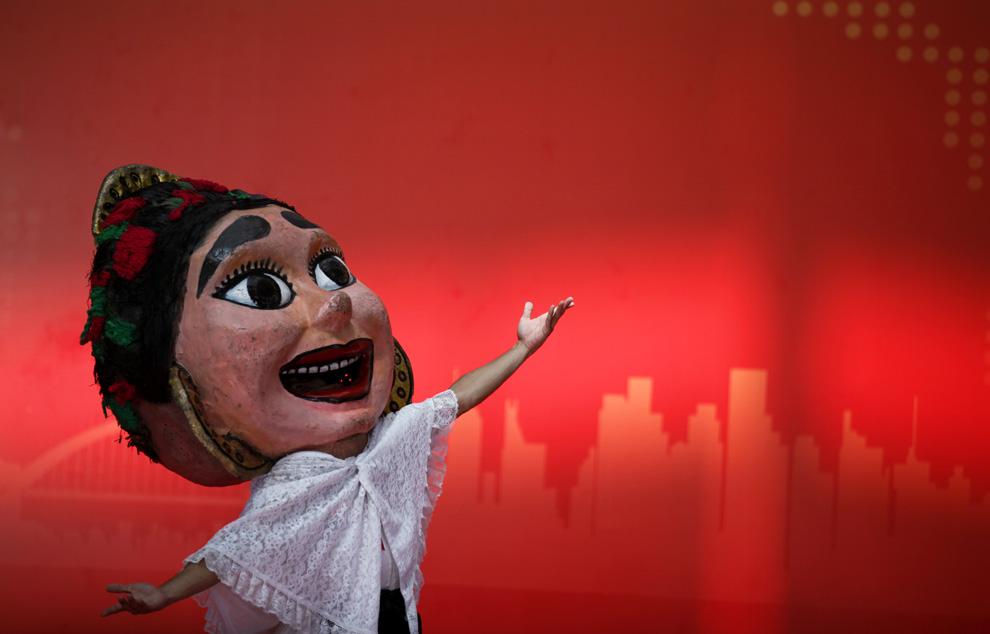 2010年9月16日,上海世博会墨西哥馆请来墨西哥艺术家进行了特别的纪念表演。