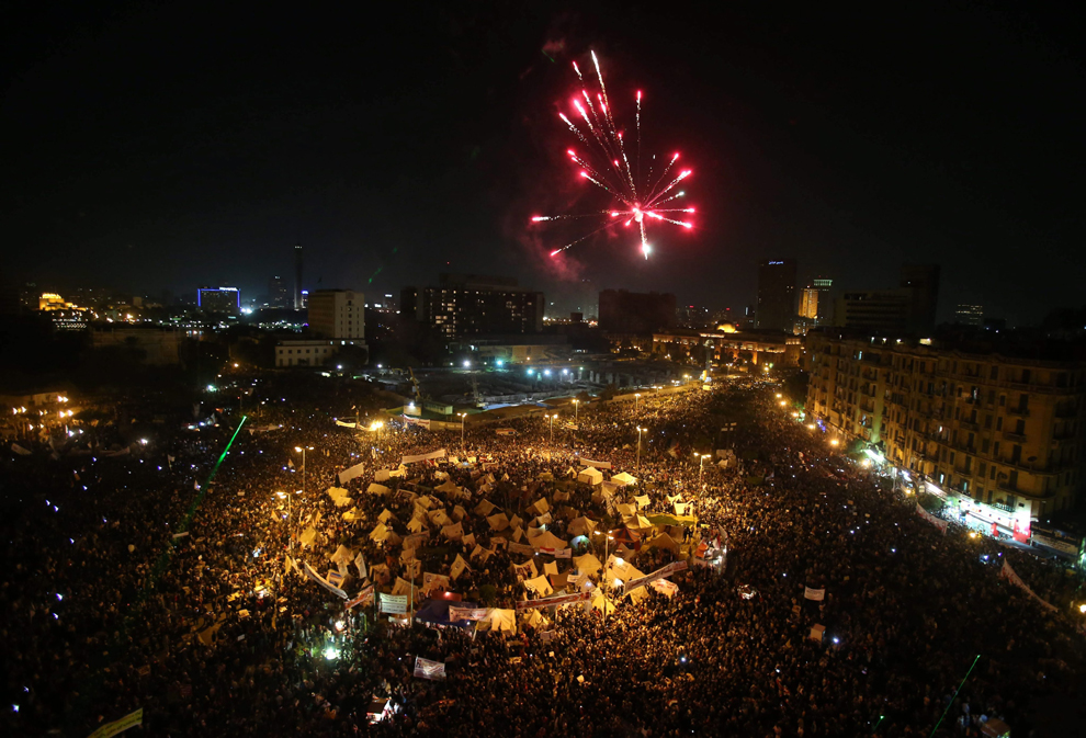 Protests return to Tahrir Square