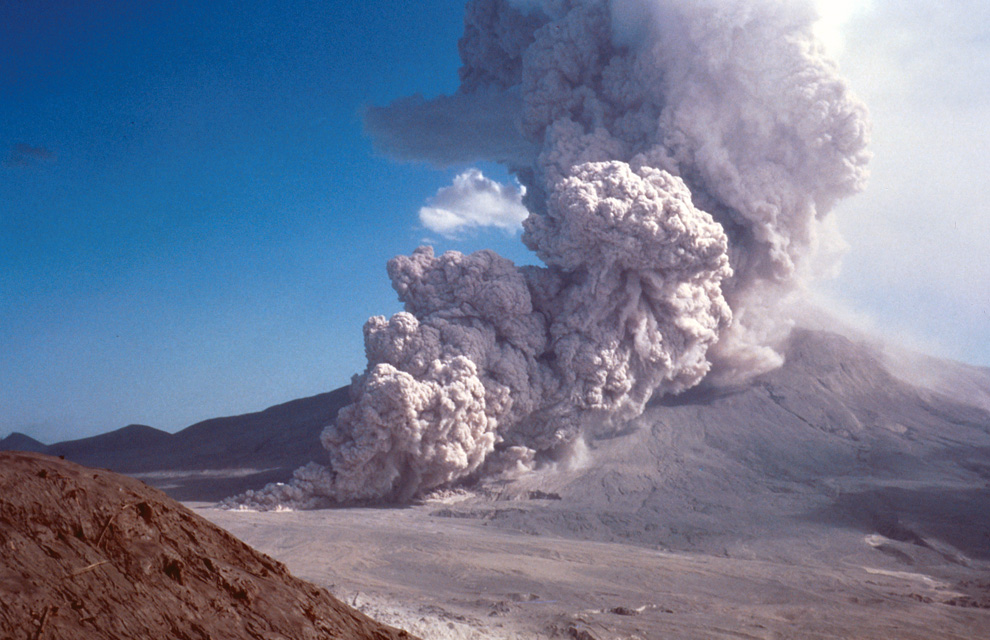 Dating of mt. st. helens lava flows