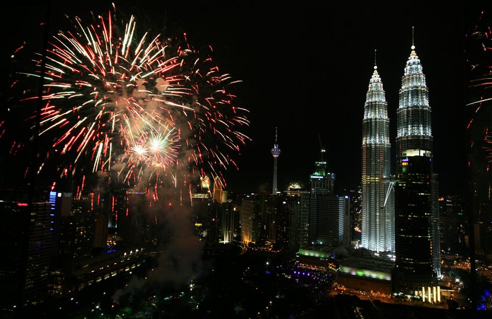 Año Nuevo Alrededor Del Mundo [Impresionante]
