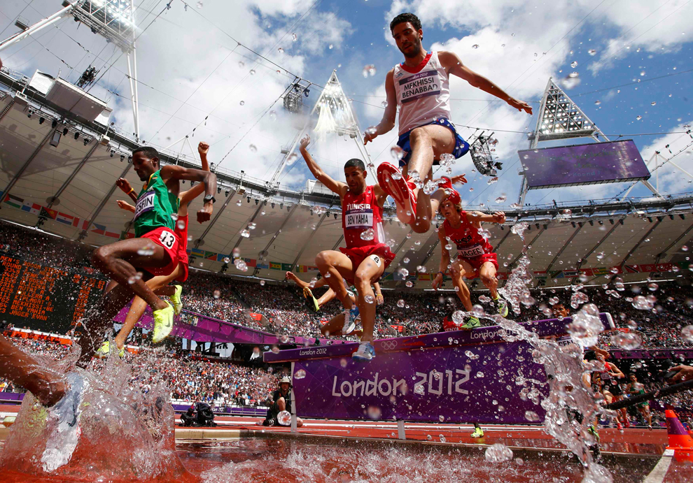 London 2012 olympics one week in photos the big for Steeplechase