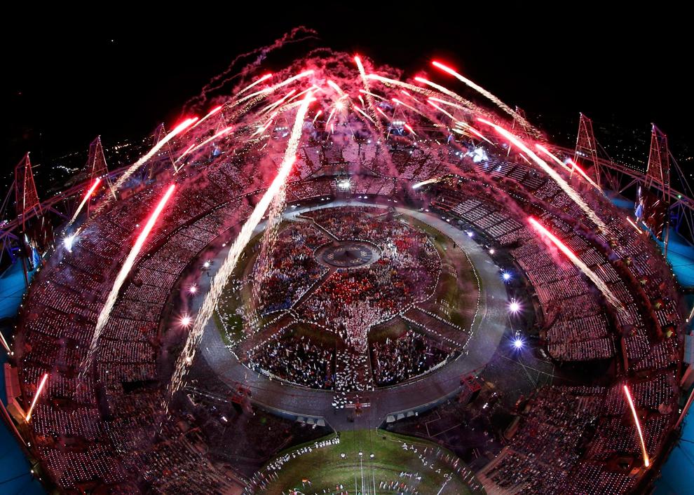 波士顿大照片:伦敦奥运会开幕式 - 守拙 - 守 拙
