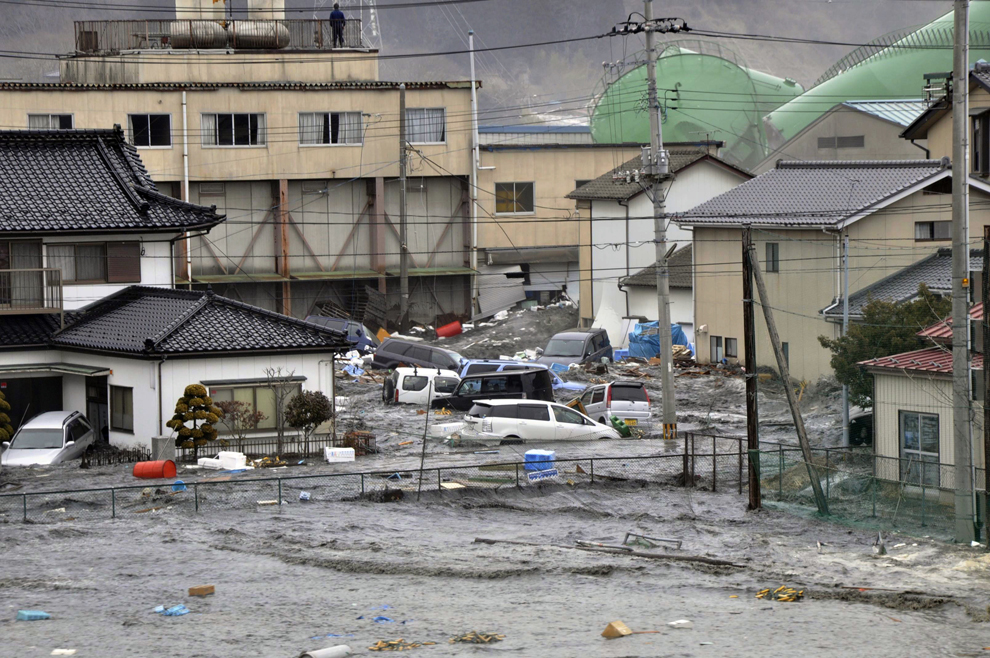 Tsunami cripples Japan; CCHS gets involved
