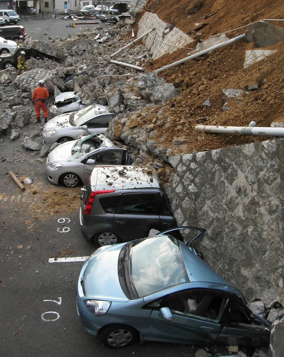 Las fotos más impactantes de la catástrofe en Japón
