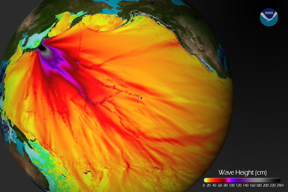 mappa tsunami giappone 2011, sundai