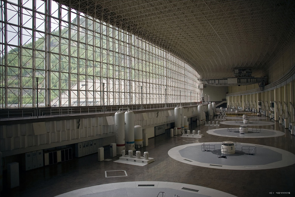 BEFORE - The Generator Hall