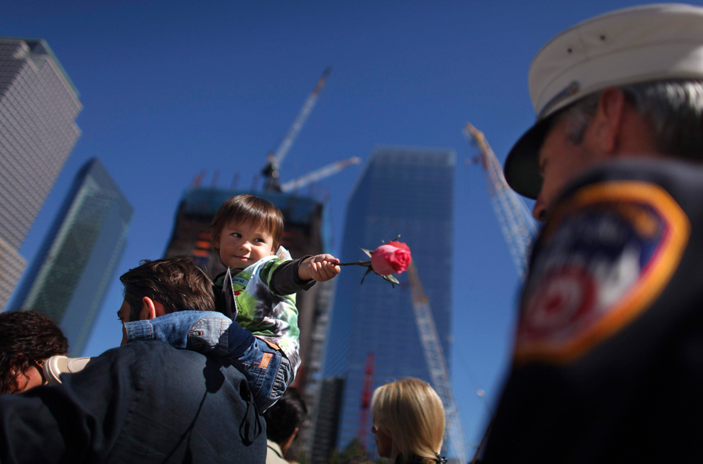 Torres gemelas, la reconstrucción-Impresionantes imágenes