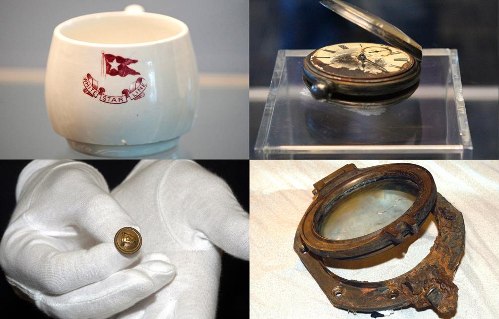 a casi 100 años del hundimiento del titanic,fotos