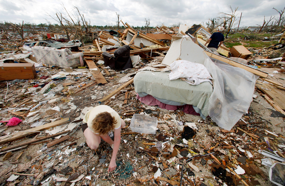 Severe weather continues in central US