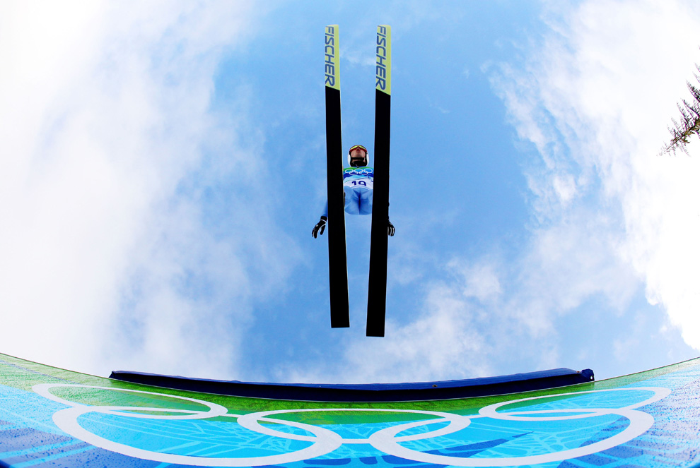 Vancouver Ski Jumper (Al Bello/Getty Images)