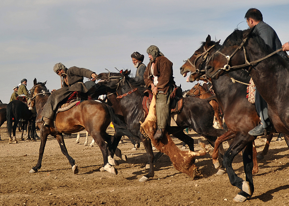 Muhlberger's World History: Buzkashi on the Afghan New ...