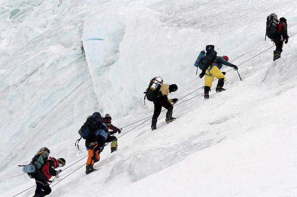 Climbing Mount Everest - Photos - The Big Picture - Boston.com