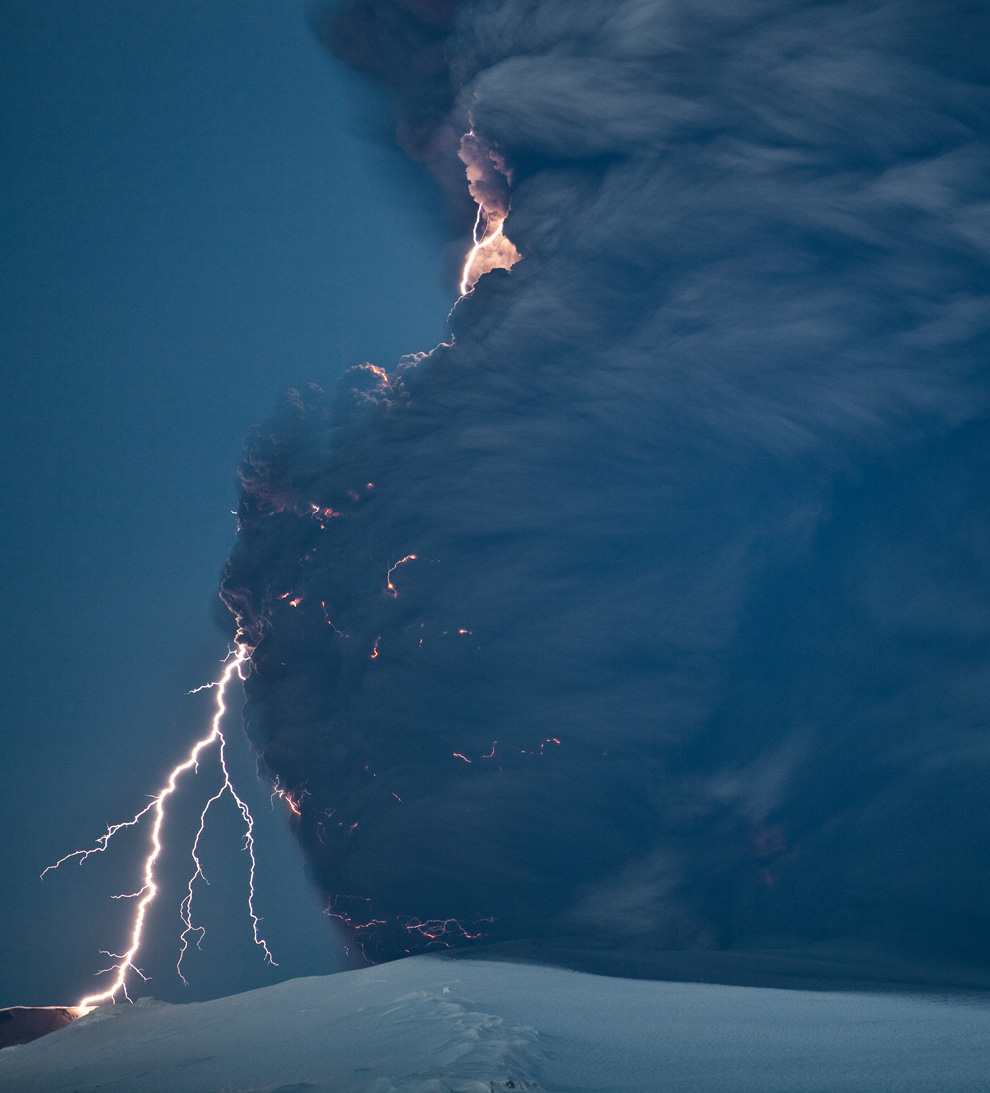 25 Amazing But Scary Photos Of Volcano In Iceland