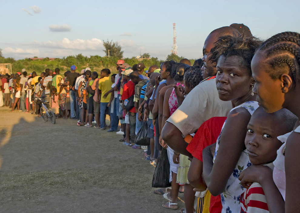 haiti haitians distribution faces insults pour boston line lollitop succession internally displaced trump un during earthquake disasters wounds healing salt